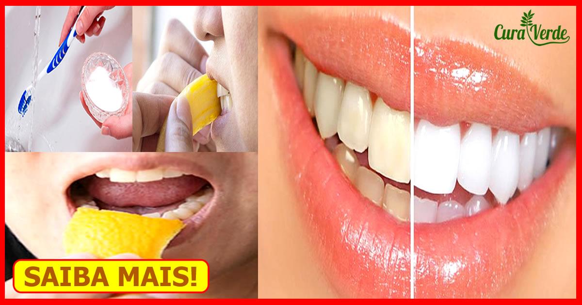 Receita Caseira Para Clarear Os Dentes Em 2 Minutos Atualizado