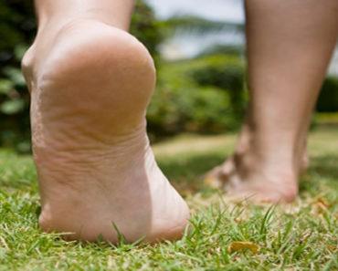 Caminhar descalço
