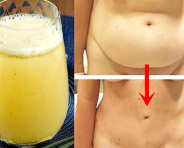 Suco detox para queimar gordura