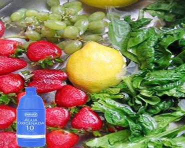 água oxigenada nas frutas