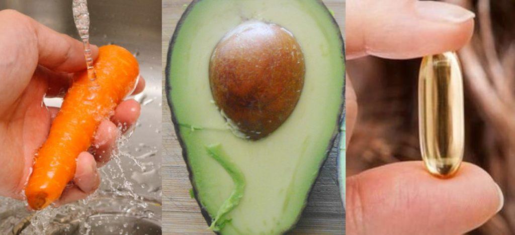 Vitamina E para a pele