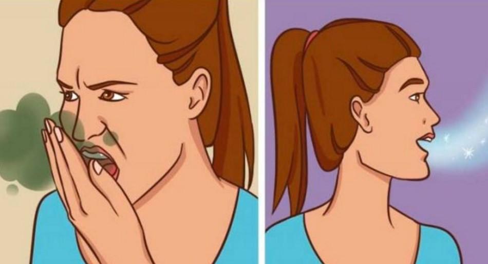 Como curar o mau hálito de forma natural