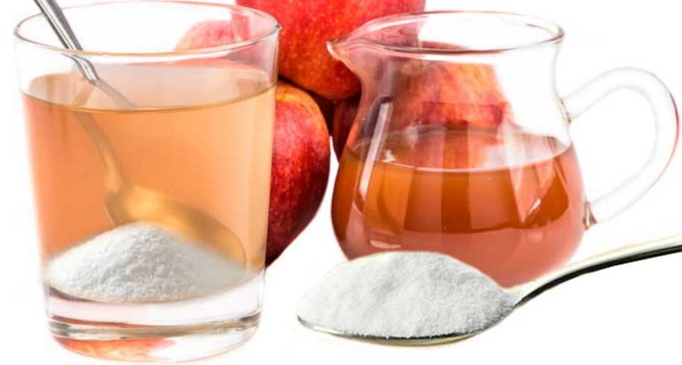 Vinagre com bicarbonato