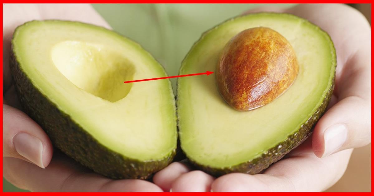 Resultado de imagem para 7 coisas incríveis escondidas dentro do caroço de abacate!