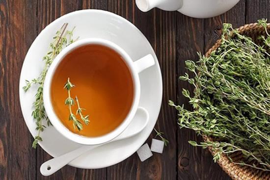 Receita de Chá de Tomilho