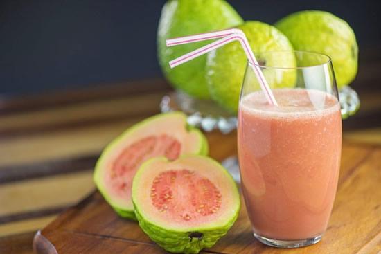 Receita de Shake Proteico de Goiaba