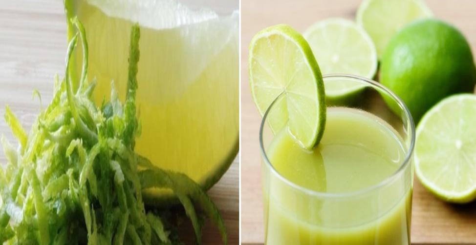Benefícios da casca do limão