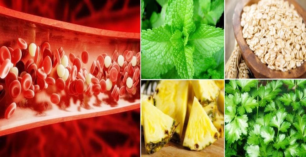Melhores alimentos para limpar o sangue
