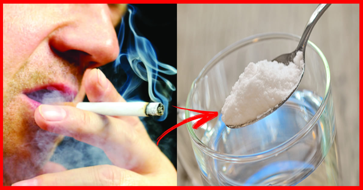 Fazer assim a pessoa deixou de fumar