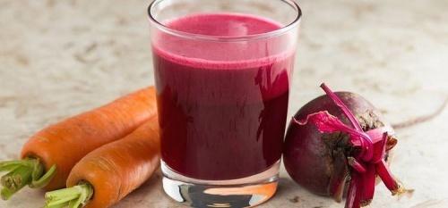 receita de suco para anemia