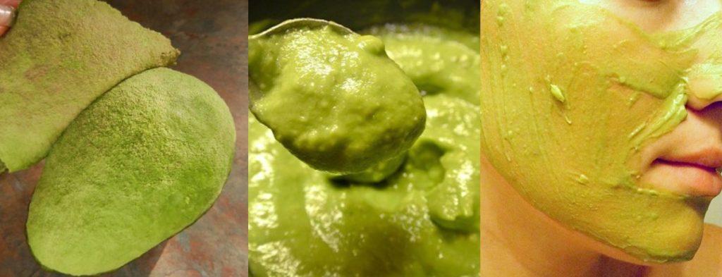 tratamentos beleza com abacate