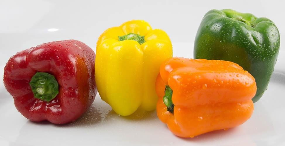Benefícios do pimentão