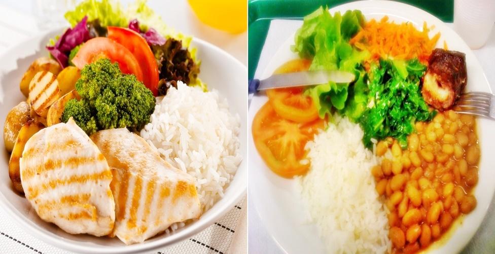 dicas de almoço saudável e simples