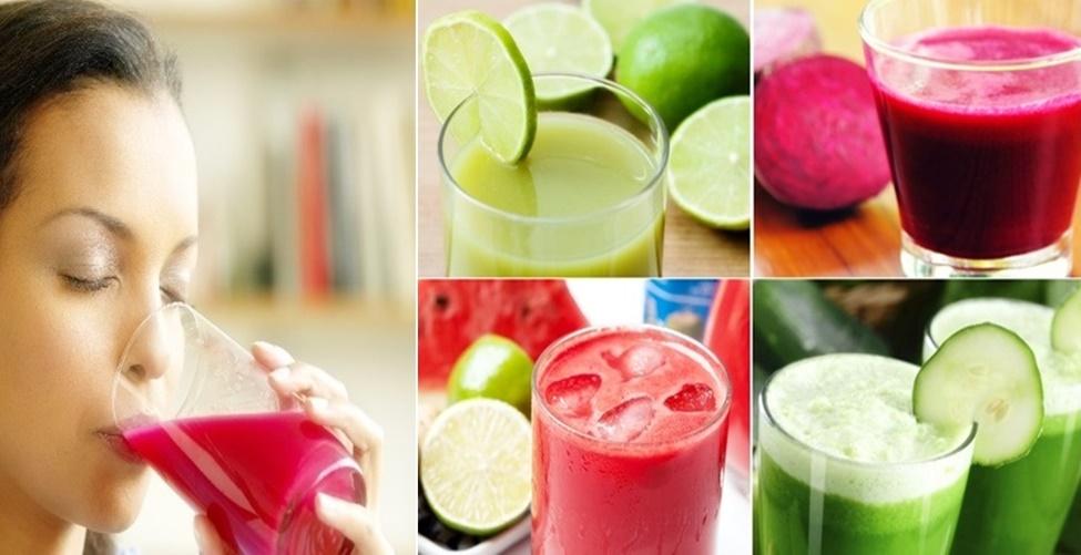Sucos para desintoxicar os rins