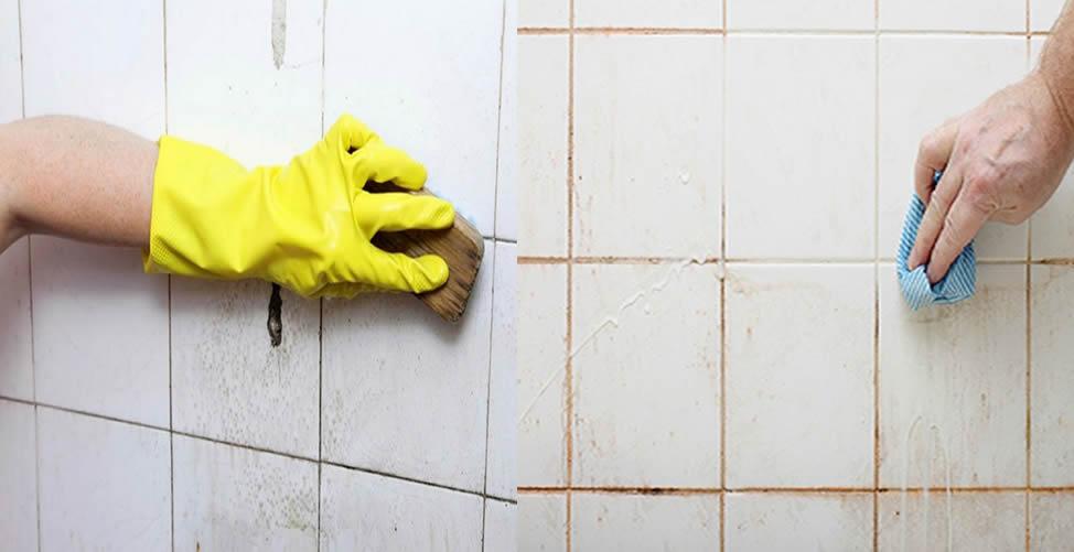 Como limpar azulejos de banheiro