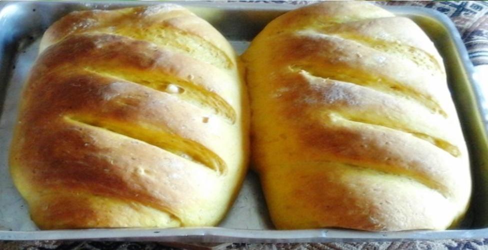 Receita de pão caseiro saudável