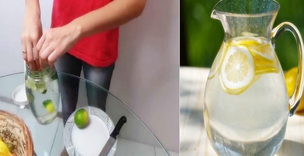 como fazer água alcalina