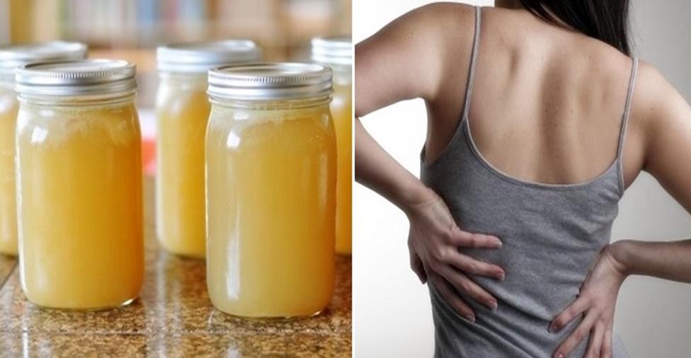 Receita caseira para dor nas costas