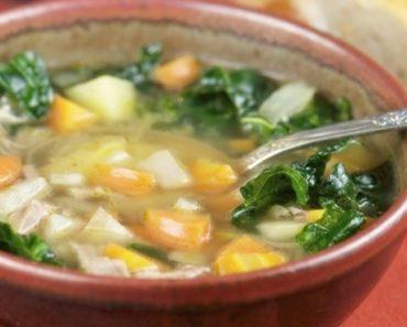 receita de sopa detox