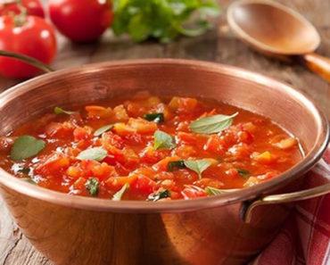 Receita caseira de extrato de tomate