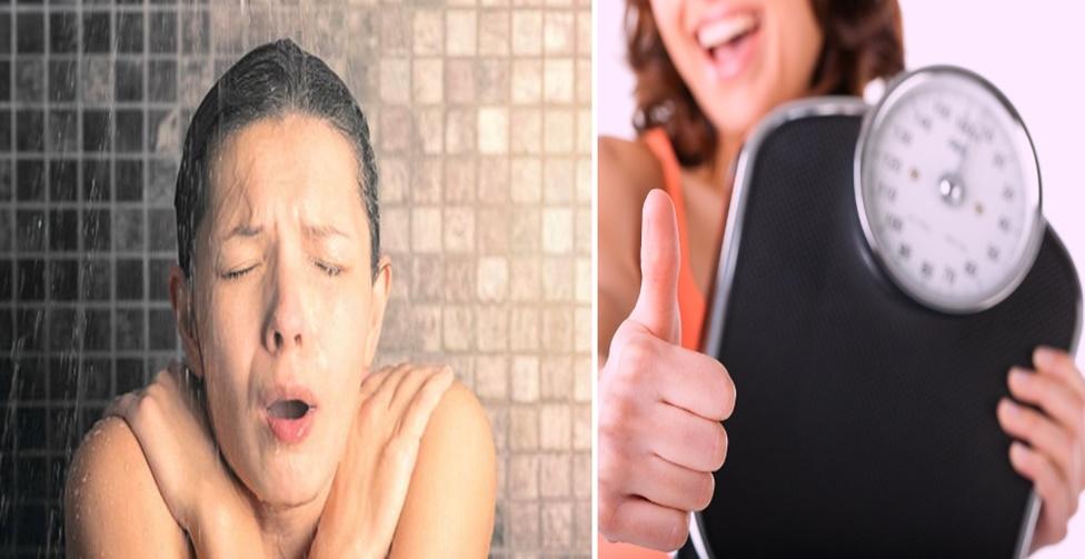 como emagrecer tomando banho gelado