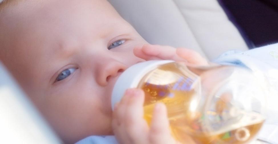 Receita de chá para bebê dormir