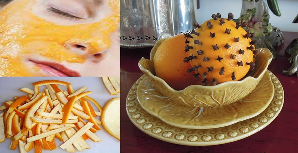benefícios das cascas de laranja