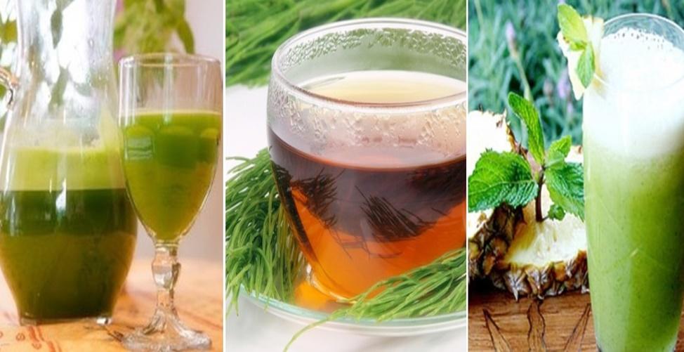 Receitas de chá verde