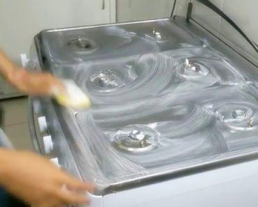 tirar manchas do fogão com creme dental