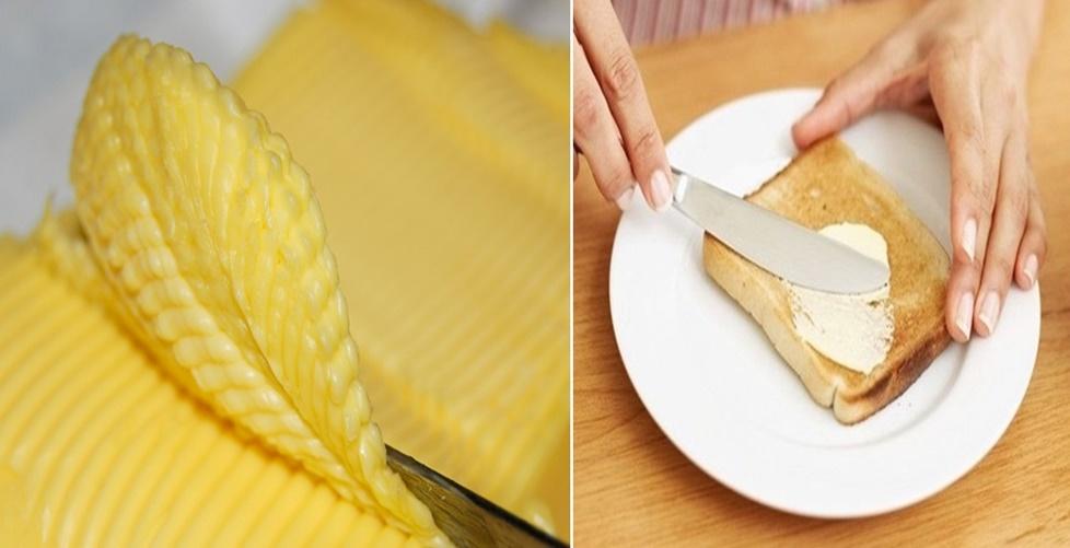 evite comer margarina