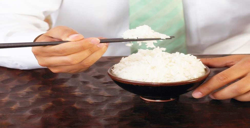 arroz não engorda