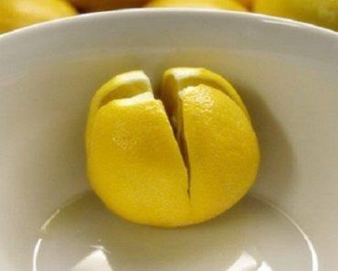colocar limão no seu quarto antes de deitar