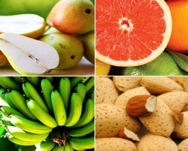 frutas que zeram barriga em poucos dias