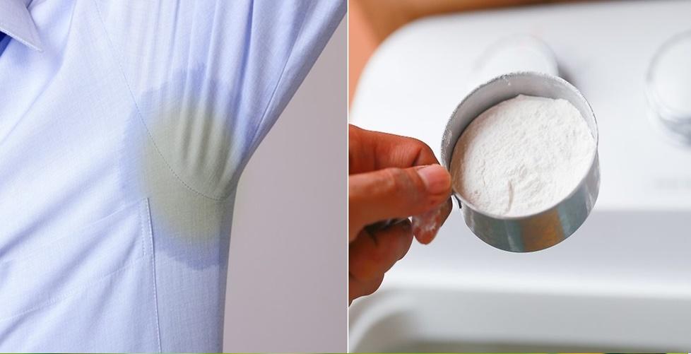 lavar roupa branca com bicarbonato de sódio
