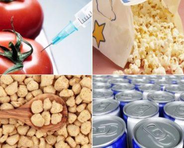 comidas altamente cancerígenas