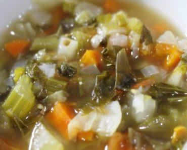 sopa para emagrecer 7 kg em uma semana