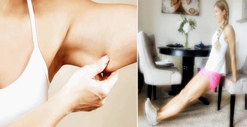 Como perder gordura das coxas e braços