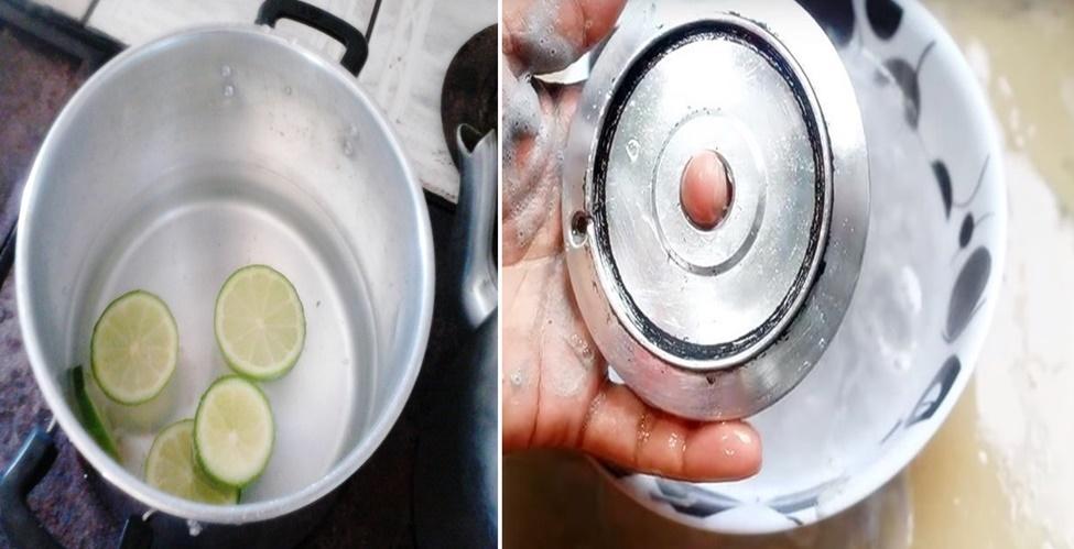 limpar os queimadores do fogão