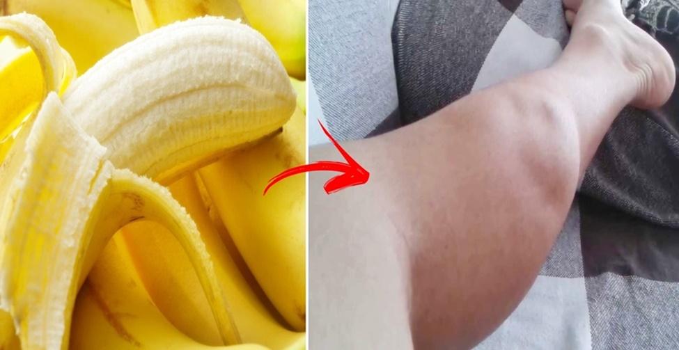 combater as cãibras com bananas