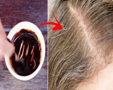 Tinta caseira para escurecer naturalmente os cabelos