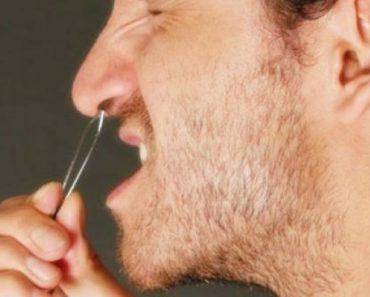 arrancar pelos do nariz pode ser letal
