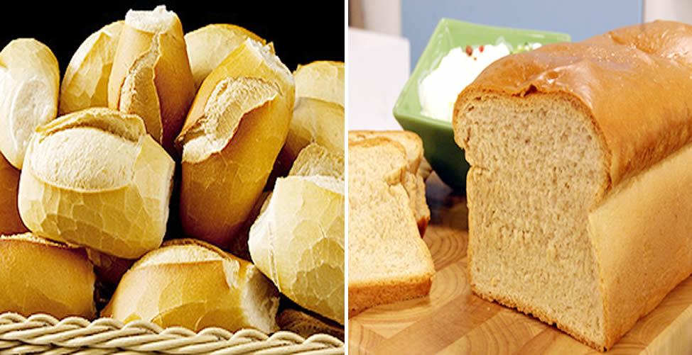Pão Francês ou Pão de Forma