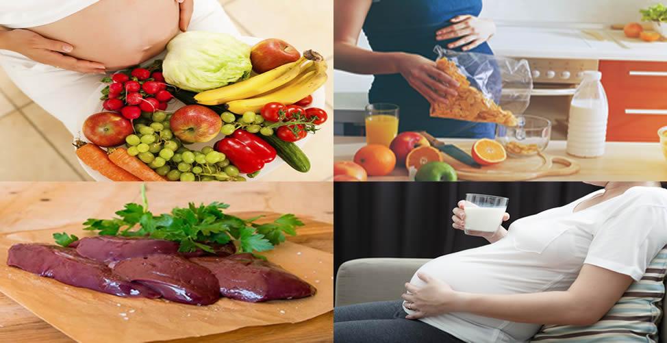 Alimentos para Consumir durante a Gravidez