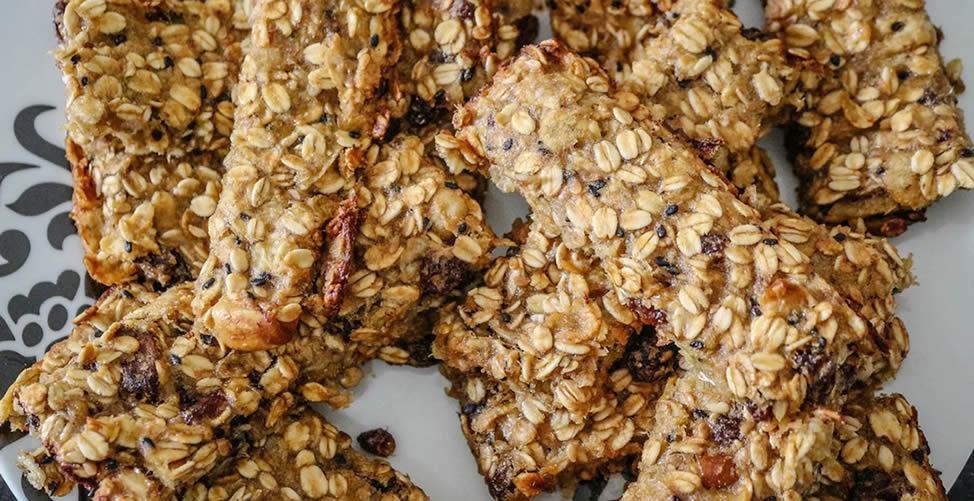Receitas de Barras de Cereal Caseira