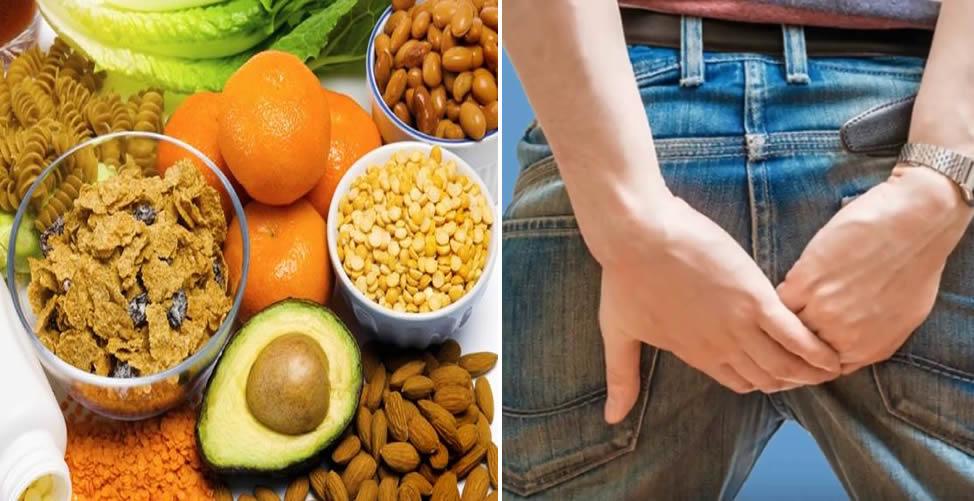 Alimentação Para Aliviar as Hemorroidas