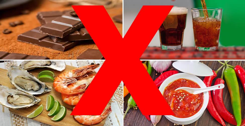 Alimentação Que Devem Ser Evitados Para Hemorroidas