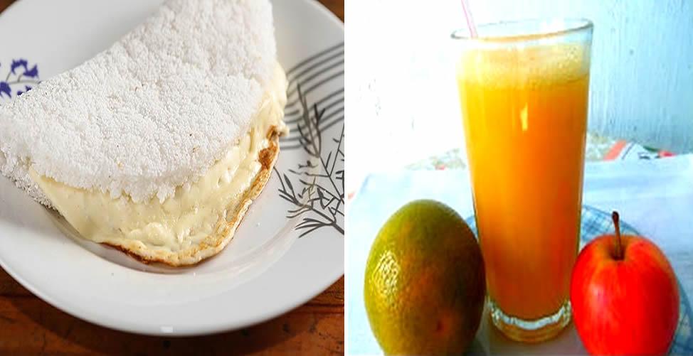 Cardápio Para Baixar Triglicerídeos - café da manhã