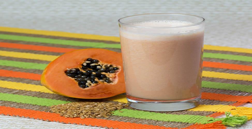 Remédio Caseiro Para Osteoporose - Vitamina de Mamão Com Gergelim