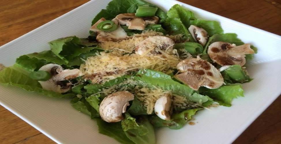 Benefícios do cogumelo do Sol - Salada