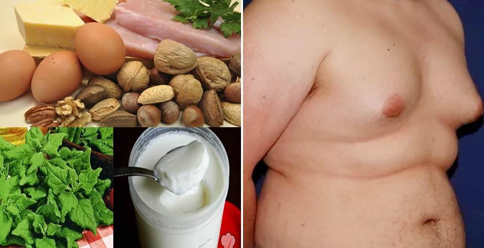 Remédio Caseiro Para Ginecomastia-Alimentos Rico em Zinco